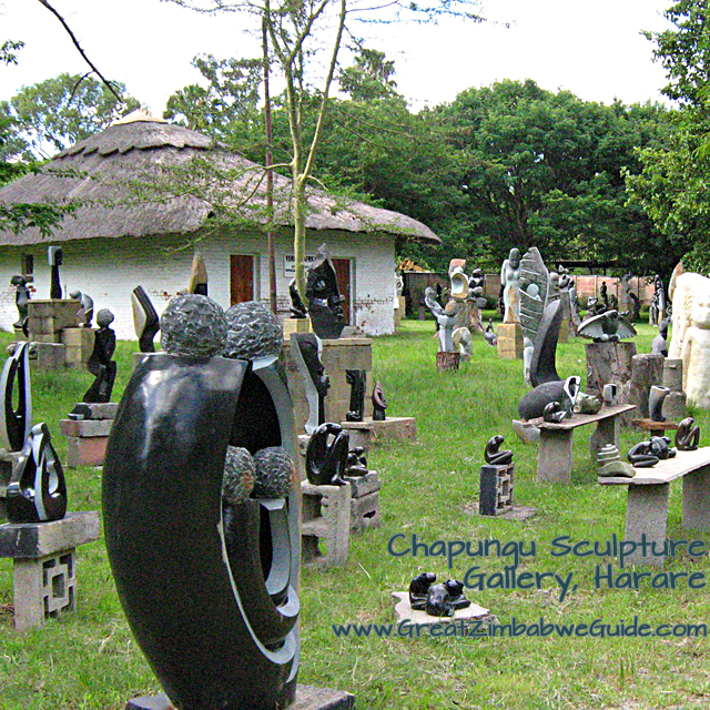 Chapungu Village Sculpture Gallery Zimbabwe