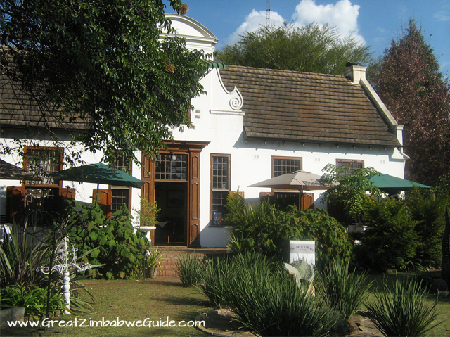 Cape Dutch style architecture