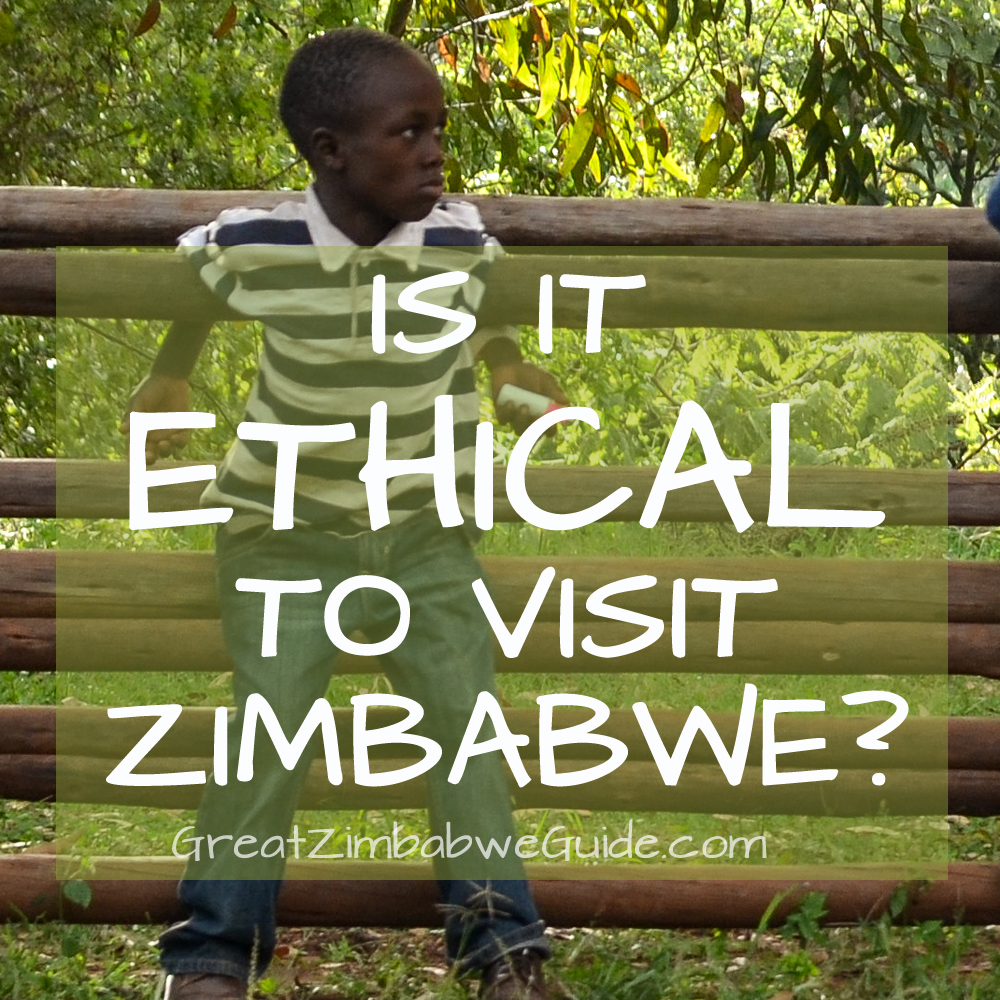 Is it ethical to visit Zimbabwe Africa