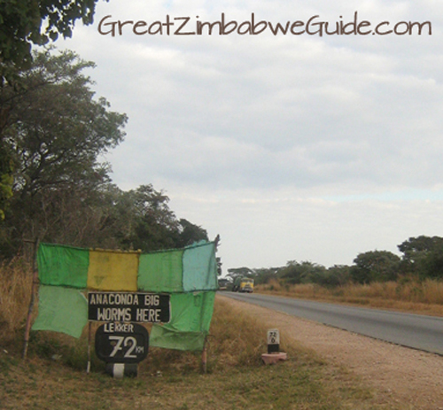 Road to Kariba