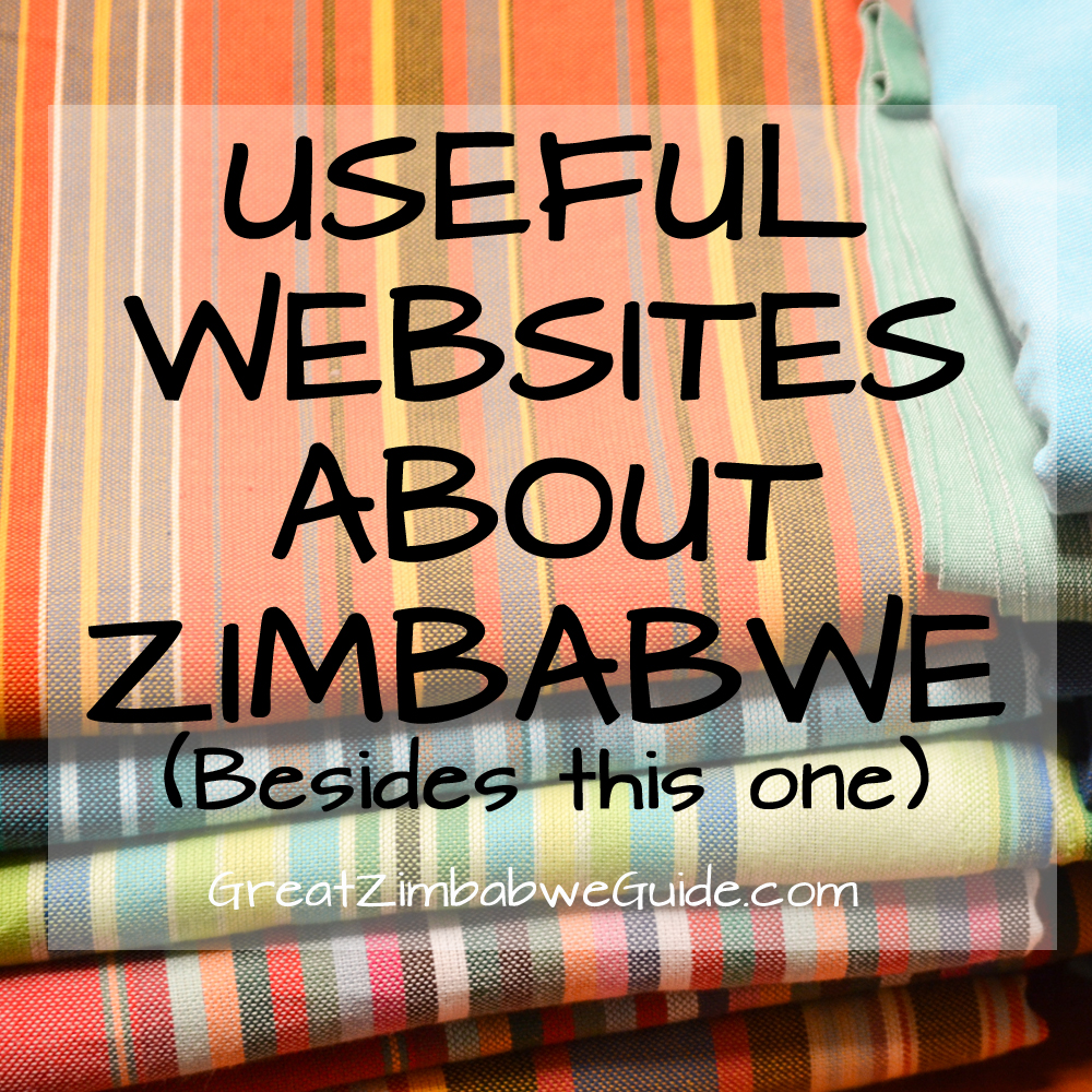 Useful websites Zimbabwe Africa