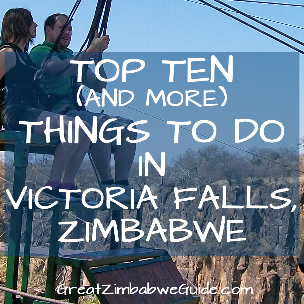 Things To Do In Victoria Falls, Zimbabwe: Top Ten Activities