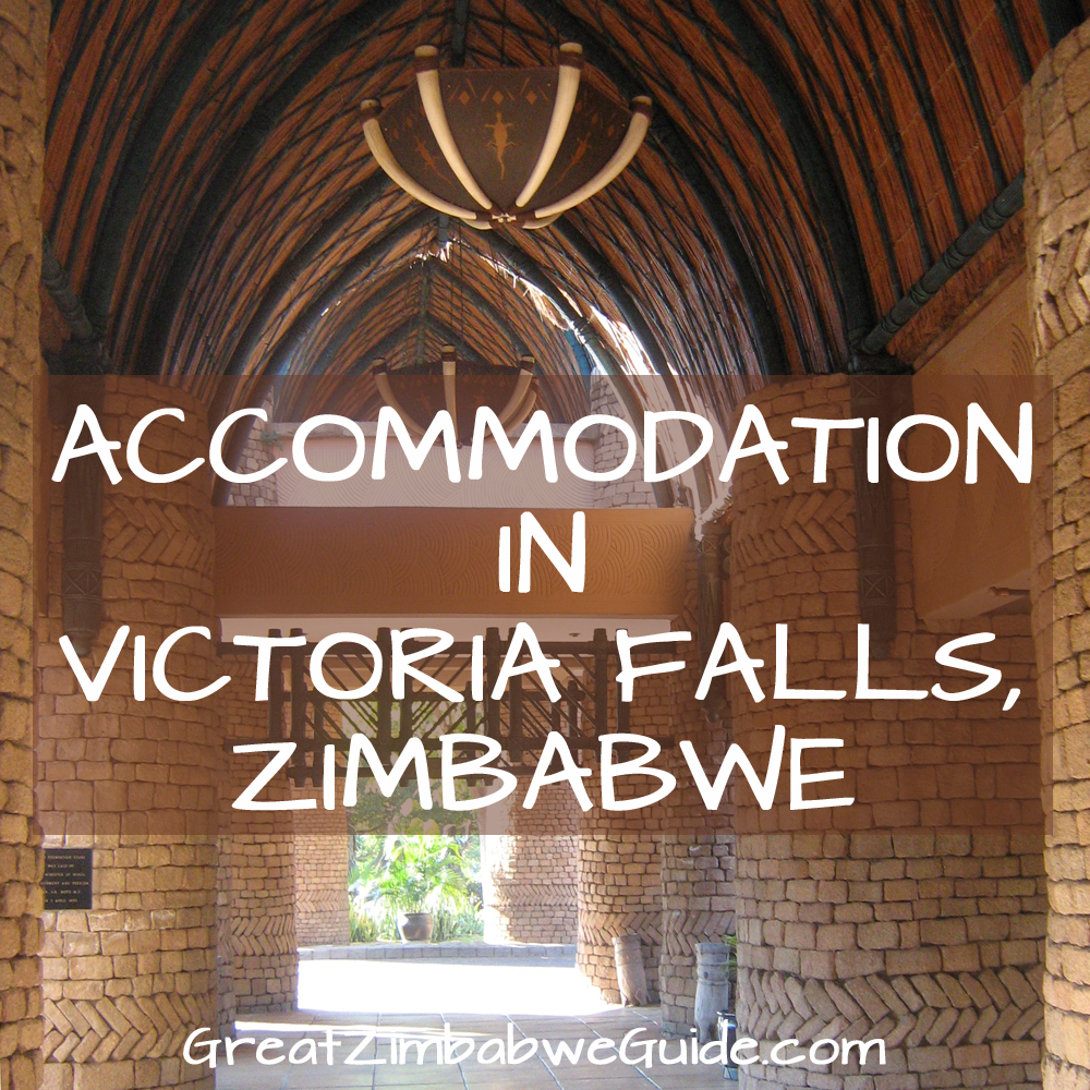 Where to stay in Victoria Falls Zimbabwe