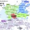 Harare area map