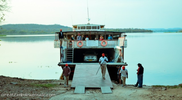 Kariba Ferry car transport