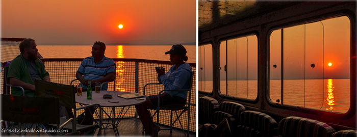 Kariba sunset ferry