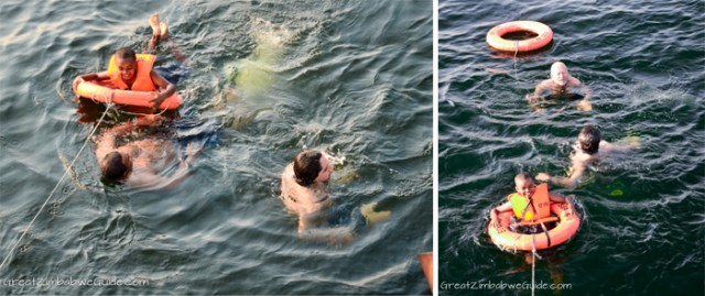 Kariba swimming
