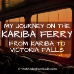 Lake Kariba Ferry Zimbabwe