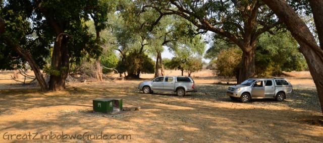 Mana Pools camping