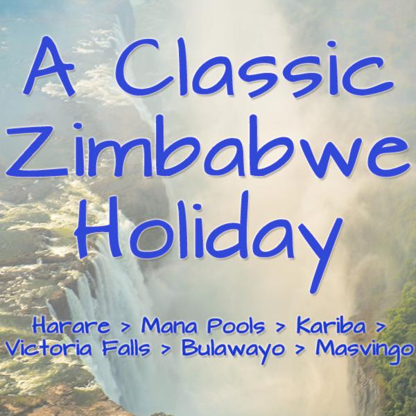 Classic Zimbabwe holiday image