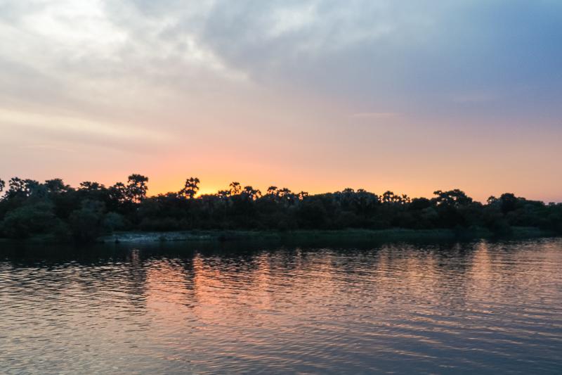 Sunset Zambezi Zimbabwe
