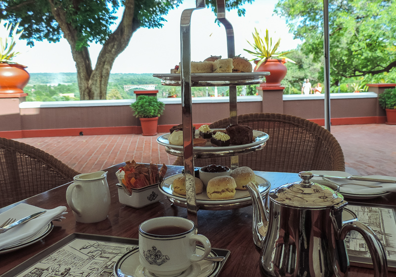 Afternoon tea Zimbabwe