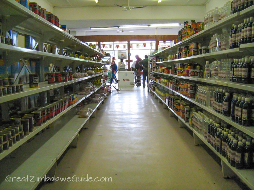 Great Zimbabwe Guide 2008 Bulawayo Supermarket