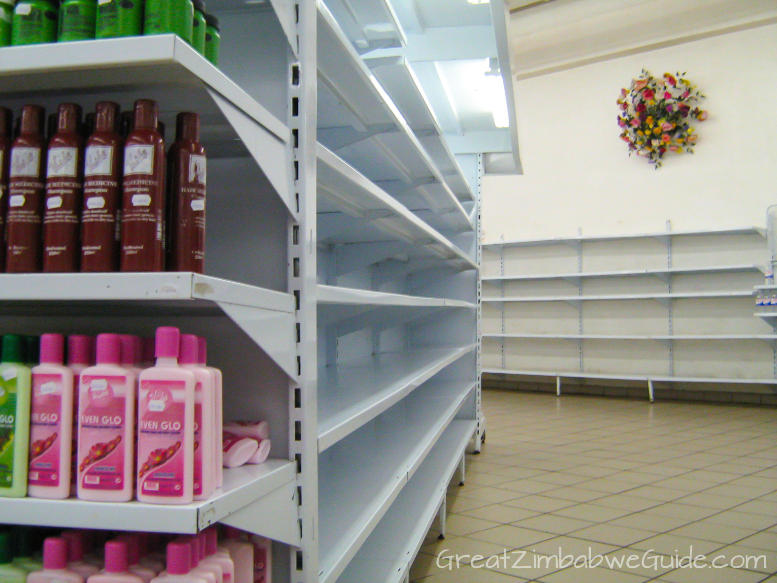 Great Zimbabwe Guide 2008 Supermarket Shelves Hyperinflation