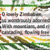 Zimbabwe Flag Anthem Lyrics 02