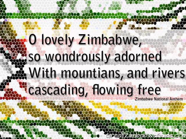 O lovely Zimbabwe so wondrously adorned