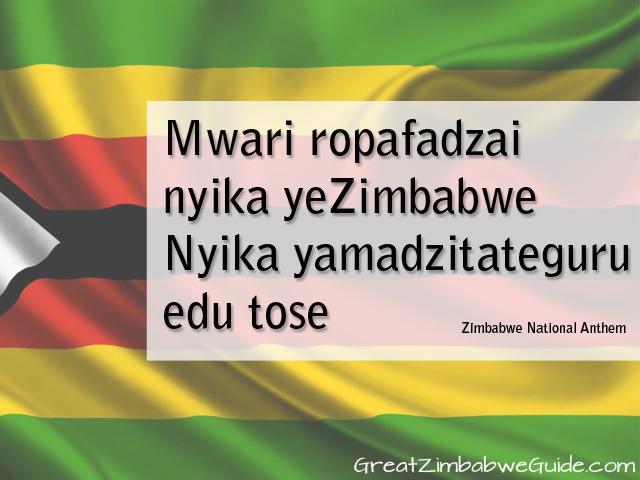 Mwari ropafadzai nyika yeZimbabwe