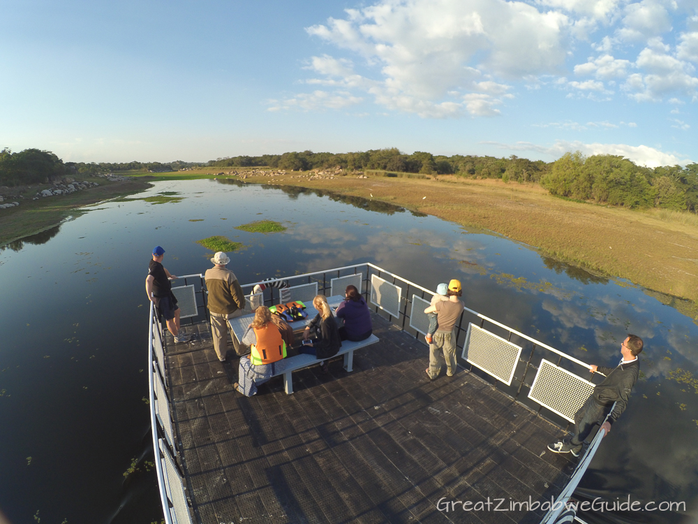 Mbizi Game Park Zimbabwe river cruise