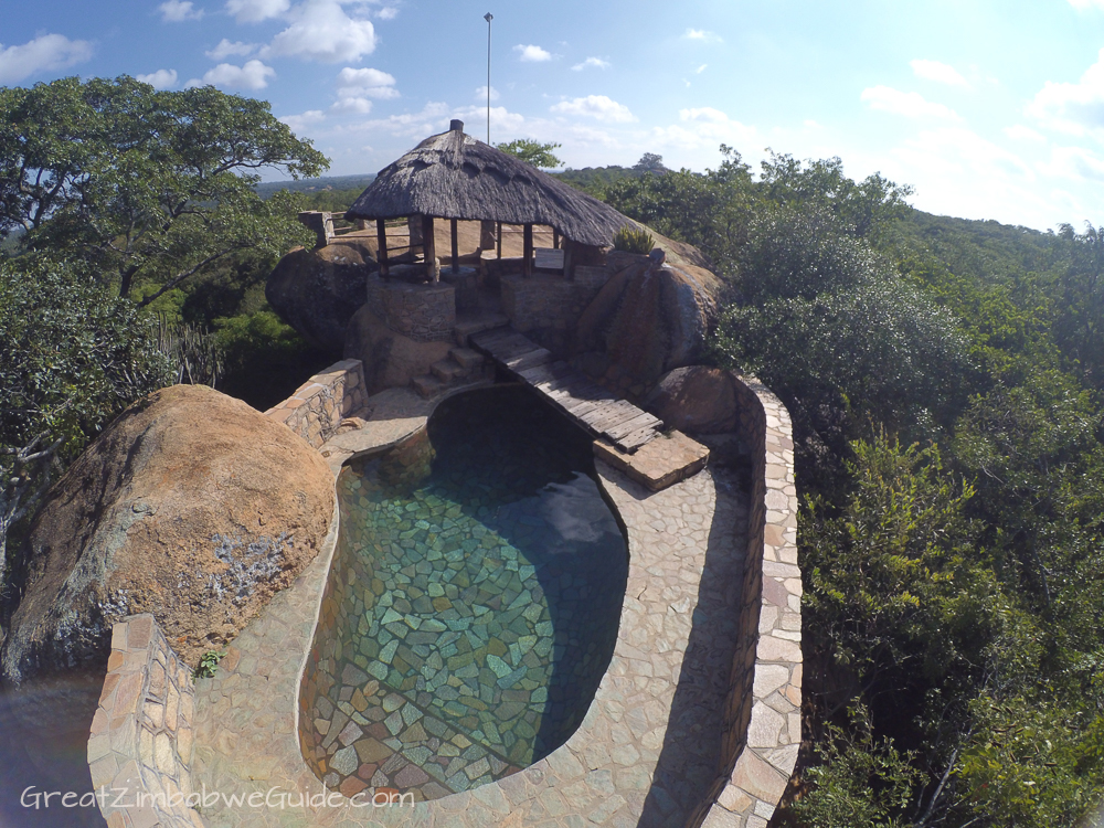Mbizi Game Park Zimbabwe swimming pool
