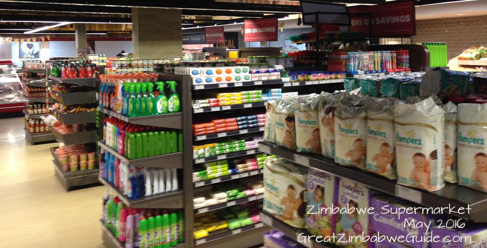Zimbabwe supermarket Great Zimbabwe Guide