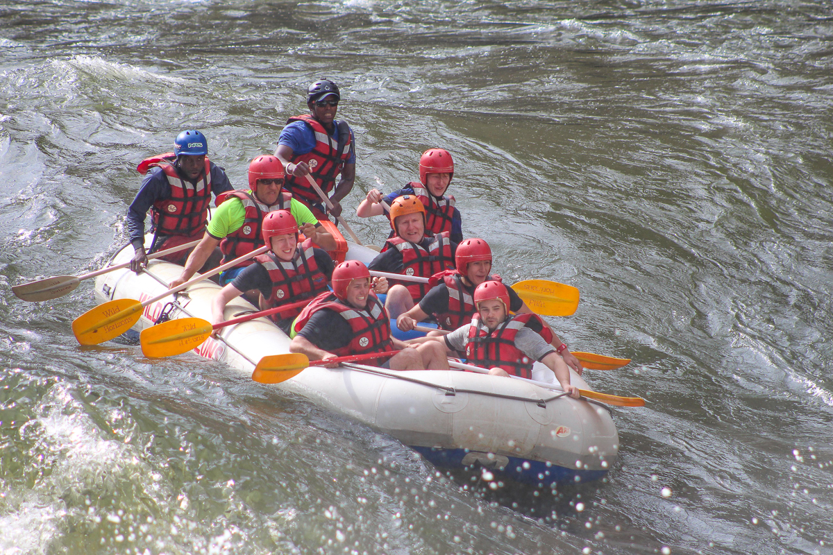 White water rafting in the Adventure Capital of Africa Zimbabwe