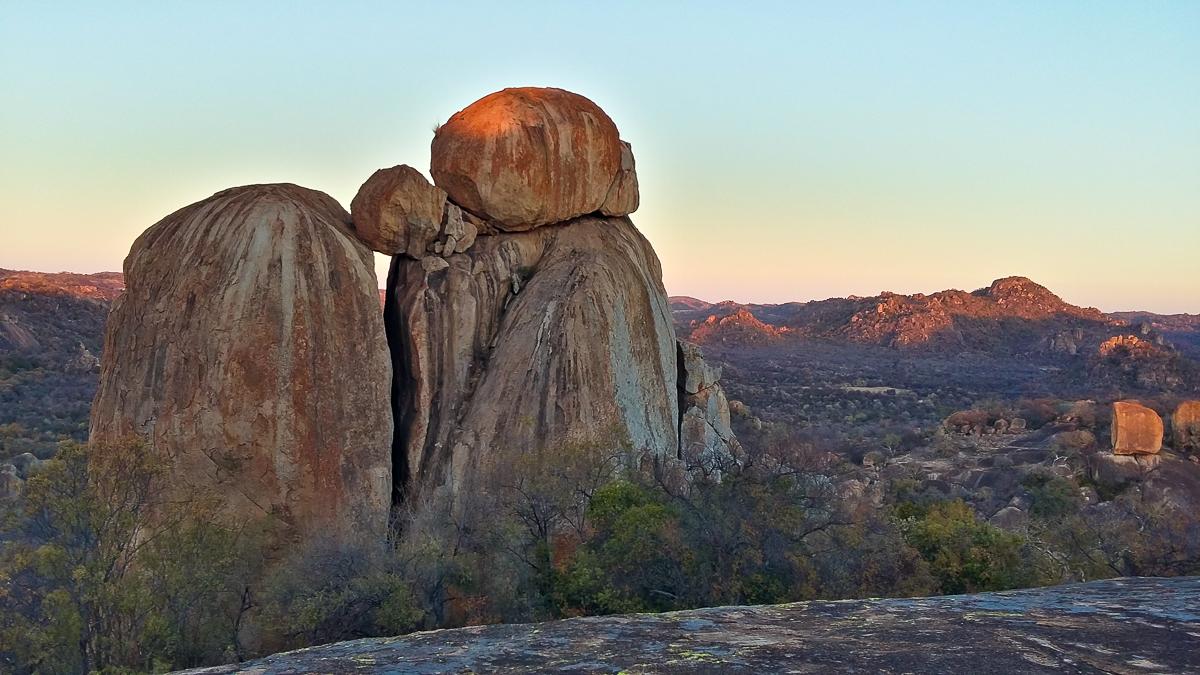 Matobo National Park Zimbabwe Rock formations