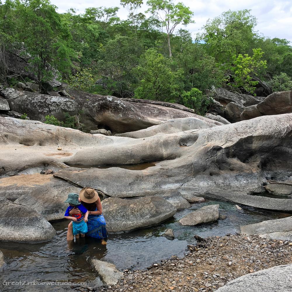 Zimbabwe Africa childhood sights-1-4